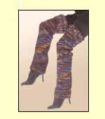 Galler Yarns: Ribbed Leg Warmers
